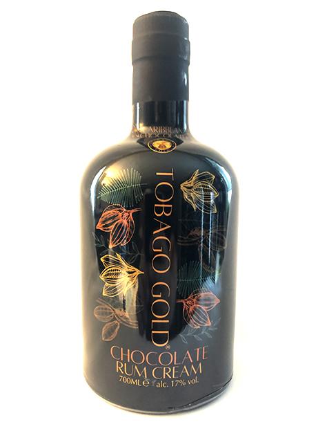 Tobago Gold Chocolate Rum Cream Liqueur