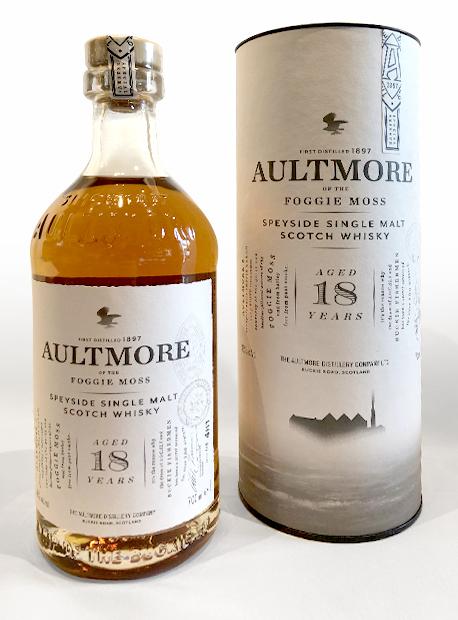 "Aultmore 18YO Single Speyside Malt Whisky ""Foggie Moss"""
