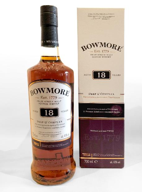 Bowmore 18YO Single Islay Malt Whisky