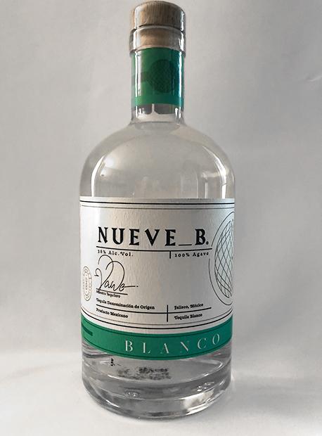 Nueve_B. #1 Tequila Blanco